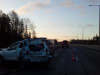 В Новгородской области в столкновении на М-11 погиб мужчина