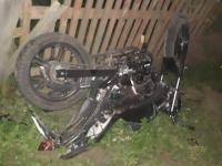В Новгородском районе водитель выехал на встречку по неизвестной причине и сбил мотоциклиста