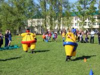 Воспитанники школы-интерната в Подберезье зарядились со стражем порядка