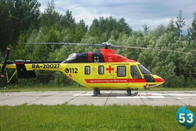 Спасающий жизни новгородский вертолёт выполнил 83 рейса