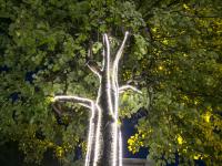 «Акрон» подарил на юбилей Великому Новгороду освещение центральной улицы