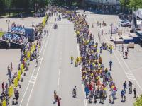 Более 700 новгородцев приняли участие в IV велопараде