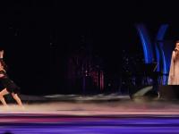 Евгения Медведева попыталась исполнить четверной сальхов во время шоу в Японии
