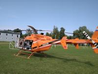 Молодого боровичанина доставят вертолетом в новгородскую больницу после ДТП на мотоцикле