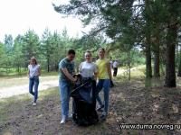 Елена Писарева вдохновила молодых парламентариев на экологическую акцию «Чистый берег»