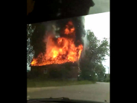 На пожаре в Боровичах погиб мужчина