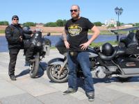 Немецкие байкеры приехали в Великий Новгород и откровенно рассказали о России