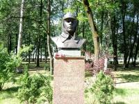 Открылась тайна одного из бюстов старорусской Аллеи Героев