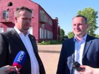 Сергей Бусурин сообщил Андрею Никитину позитивные новости о городской казне