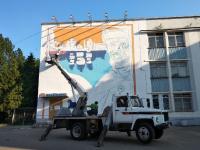 Стрит-арт художники продолжат украшать новгородские дома следующим летом
