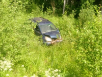 В Демянском районе мужчина cломал позвоночник в ДТП