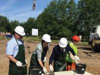 В деревне Мойка Батецкого района начали строить детский сад на 60 мест