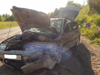 В крупном ДТП в Челябинской области пострадали четыре новгородца, в том числе дети