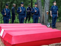 В Маревском районе в День памяти и скорби захоронили останки 59 советских бойцов