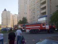 В многоквартирном доме на Кочетова в Великом Новгороде загорелся балкон
