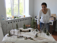 В Поддорье создают макет «Партизанский обоз»