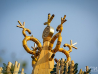 Вероника Минина побывала на якутском национальном празднике Ысыах Олонхо