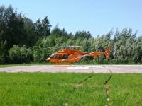 Вертолёт доставил в Великий Новгород маленького пациента из Хвойной