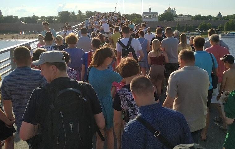 На 1160-летии Великого Новгорода побывали 15 тысяч гостей