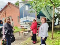 «Автопоезд здоровья» в Чудовском районе каждый день принимает десятки пациентов
