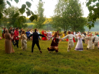 Фольклор кругом: в Любытино-Хутор состоялся профсоюзный турслет