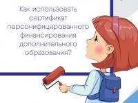 Как пользоваться сертификатом на бесплатное дополнительное образование?