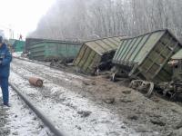 Крушение поезда парализовало работу участка Северной железной дороги
