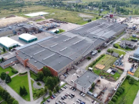 На фанерном заводе в Чудове произошел пожар повышенной опасности