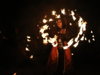 На «Княжьей братчине» в Великом Новгороде с помощью огня покажут криптозоологическую легенду