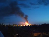 На ночном пожаре в Трубичине пострадала 73-летняя женщина