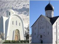 Новгородский храм стал прообразом для новой футуристической церкви в Москве
