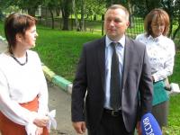 Новгородские журналисты побеседовали с мэром о дереве, окне и аварийном жилье