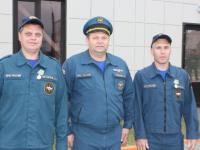 Спасшим рыбака от гибели сотрудникам новгородского поисково-спасательного отряда вручили медали