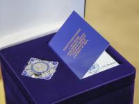 Фоторепортаж: в честь 75-летия образования Новгородской области вручены награды