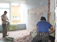Начался ремонт в помещениях, куда переедет ДШИ в Деревяницах
