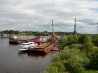 Замминистра транспорта рассказал о судьбе оставшихся без работы сотрудников «Новгородского речного порта»