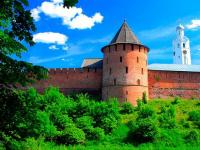 CNN назвал Новгородский кремль одним из красивейших замков мира