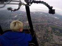 Как это было: в Великом Новгороде прошел рекордный полет на воздушном шаре