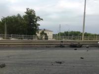 Молодой мотоциклист попал в больницу после происшествия на Колмовском мосту