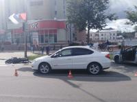 В Новгородской области пострадали два переходивших дорогу по всем правилам пешехода