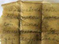 Настоящее чудо: удалось прочитать вкладыш из солдатского медальона со дна озера Вельё