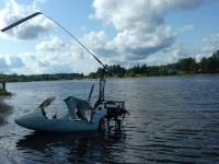 Невдалеке от восточной части Новгородской области в реку упал вертолёт