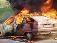 Новгородские пожарные потушили горящую «семёрку» за считанные минуты