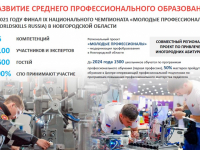 Развитие системы образования Новгородской области в слайдах, цифрах и фактах