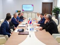 Рустам Минниханов и Андрей Никитин обсудили сотрудничество Татарстана и Новгородской области