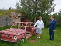 Елена Писарева посетила детские сады Мошенского района