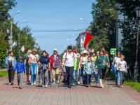 Сегодня новгородцы отметили юбилейный День физкультурника