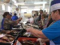 Сегодня новгородцы задёшево смогли купить дорогую рыбу