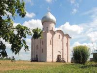 В древней церкви Спаса на Нередице впервые за сто лет была совершена Божественная Литургия