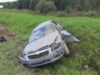 В Крестецком районе в результате ДТП пострадали сразу четыре молодых человека